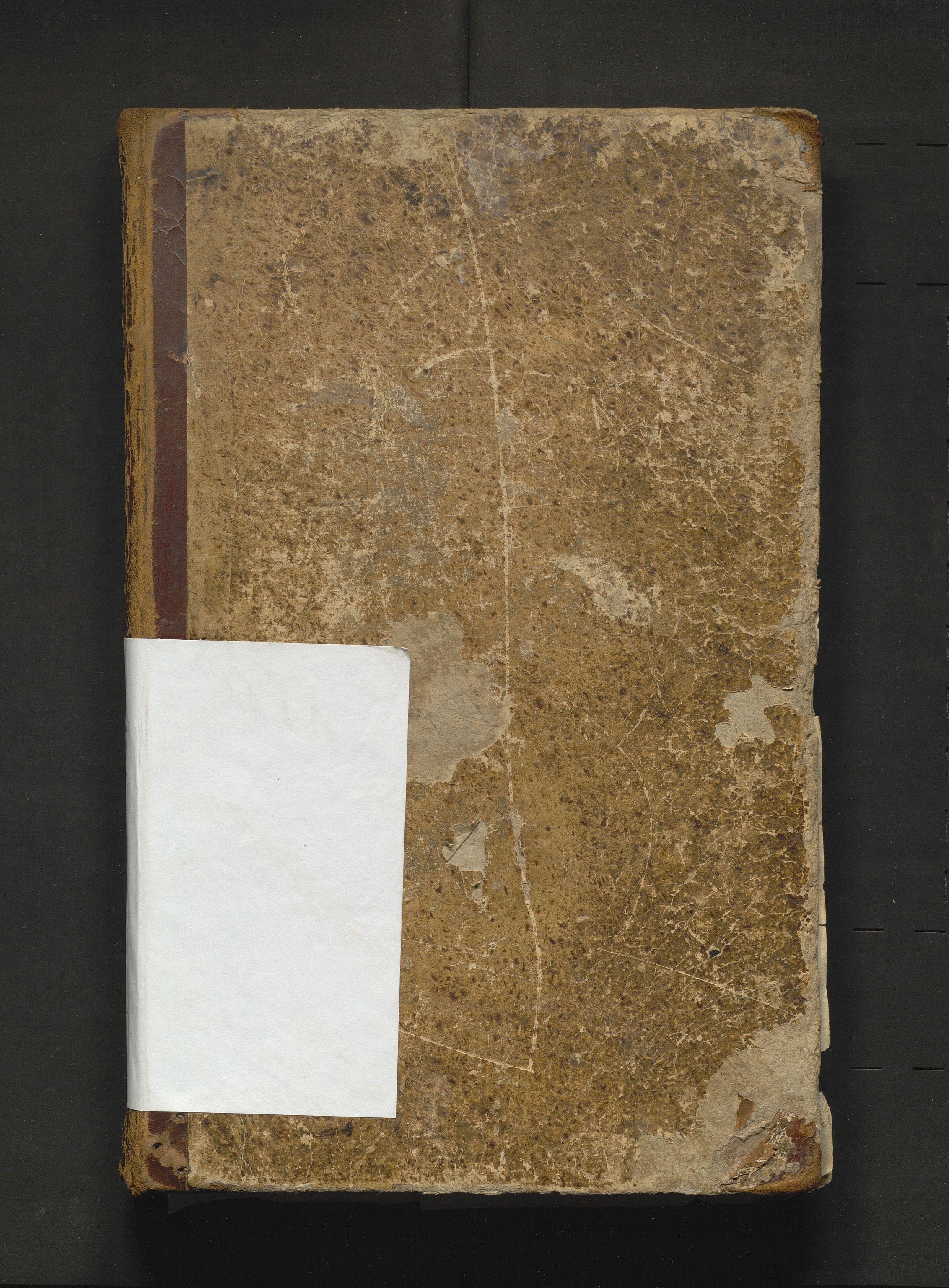 IKAH, Strandebarm kommune. Fattigstyret, A/Aa/L0001: Møtebok for Strandebarm fattigkommisjon, 1846-1901