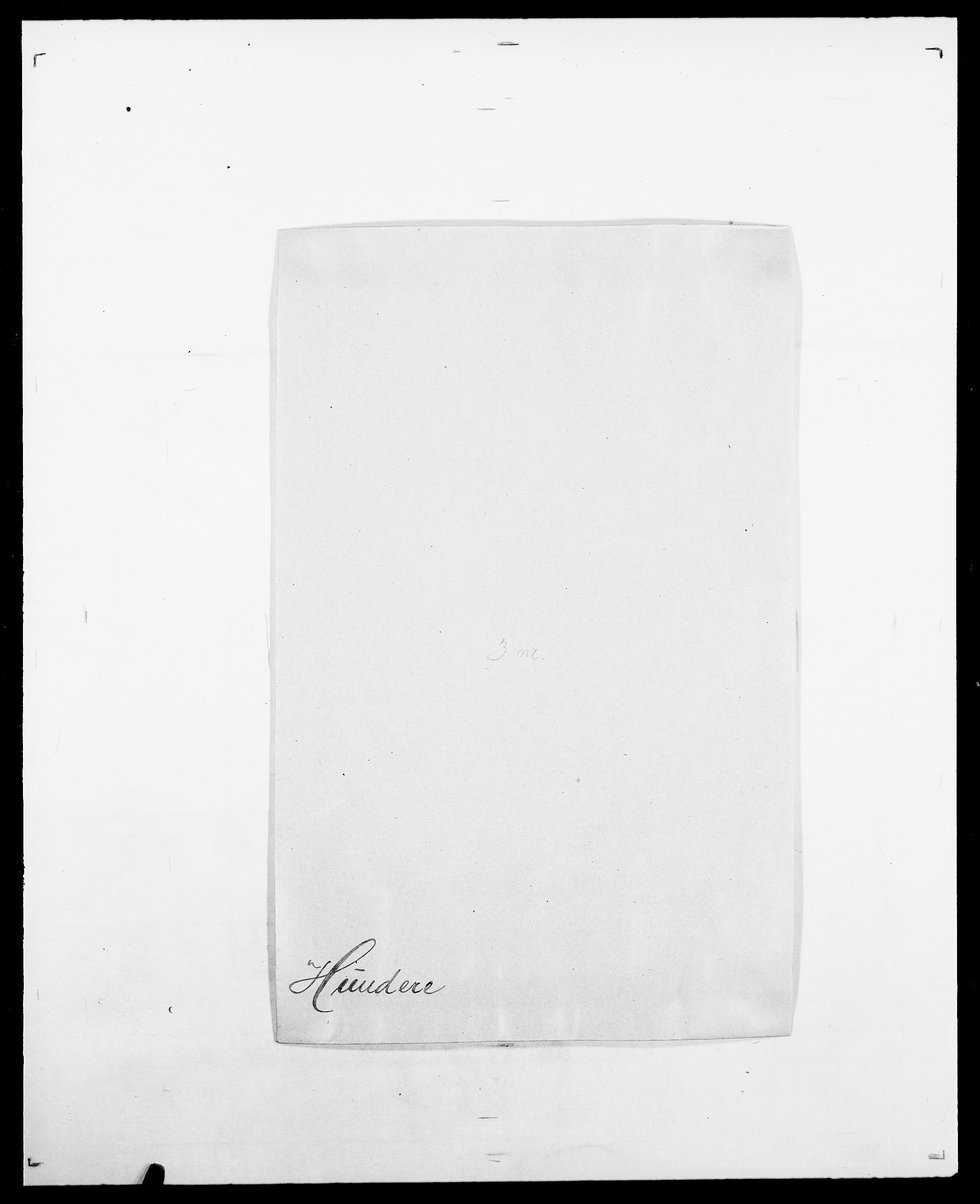 SAO, Delgobe, Charles Antoine - samling, D/Da/L0019: van der Hude - Joys, s. 60
