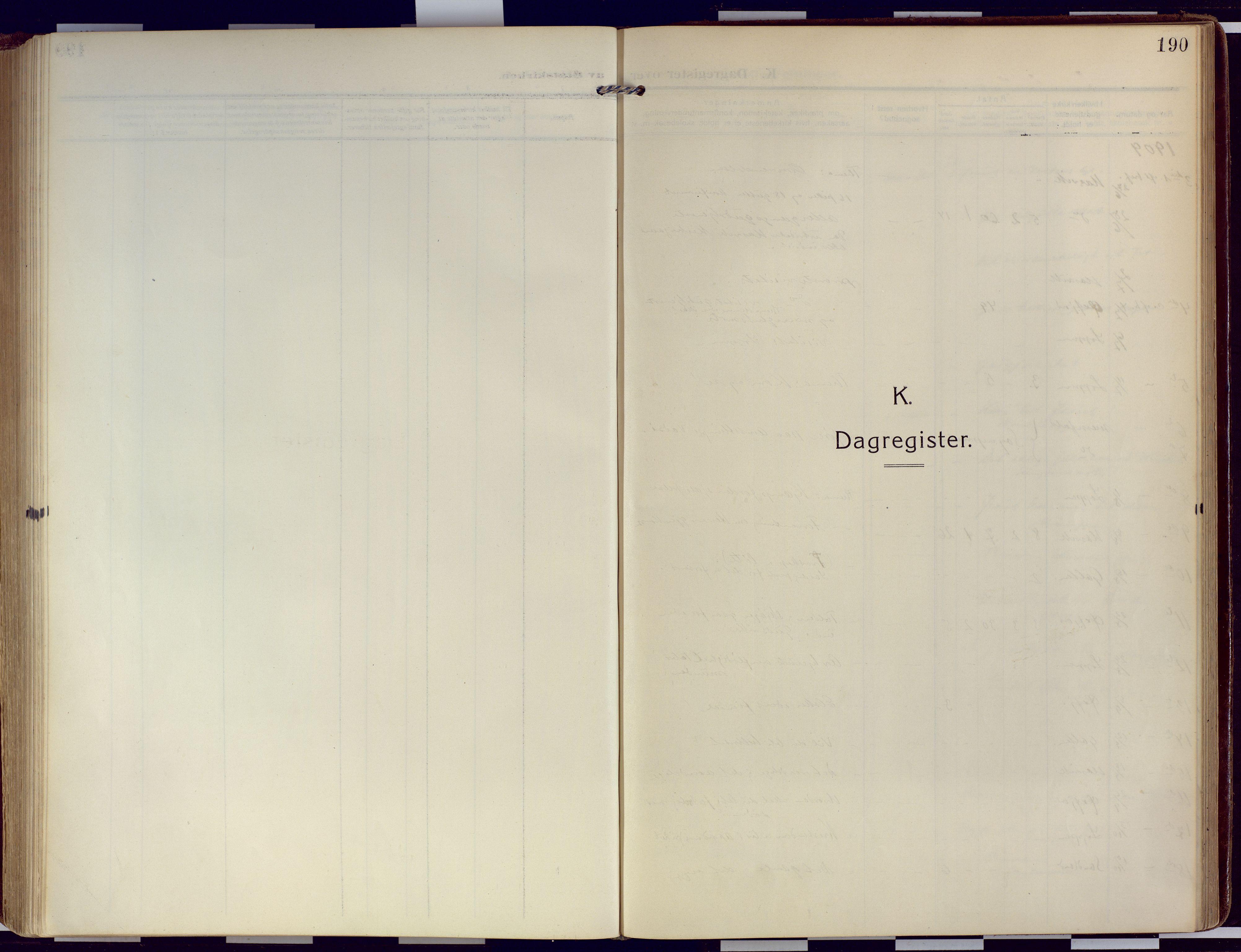 SATØ, Loppa sokneprestkontor, H/Ha/L0011kirke: Ministerialbok nr. 11, 1909-1919, s. 190