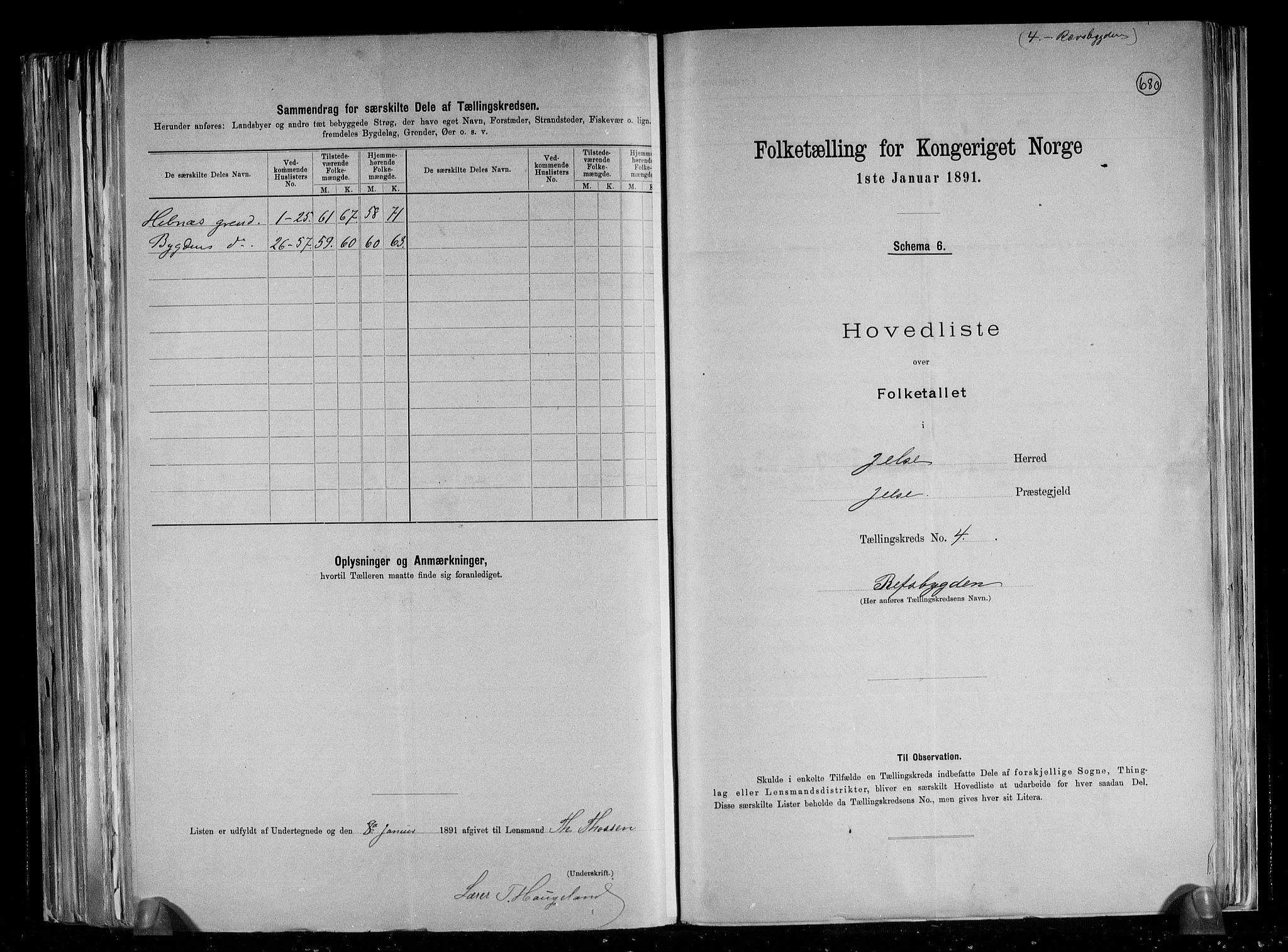 RA, Folketelling 1891 for 1138 Jelsa herred, 1891, s. 11