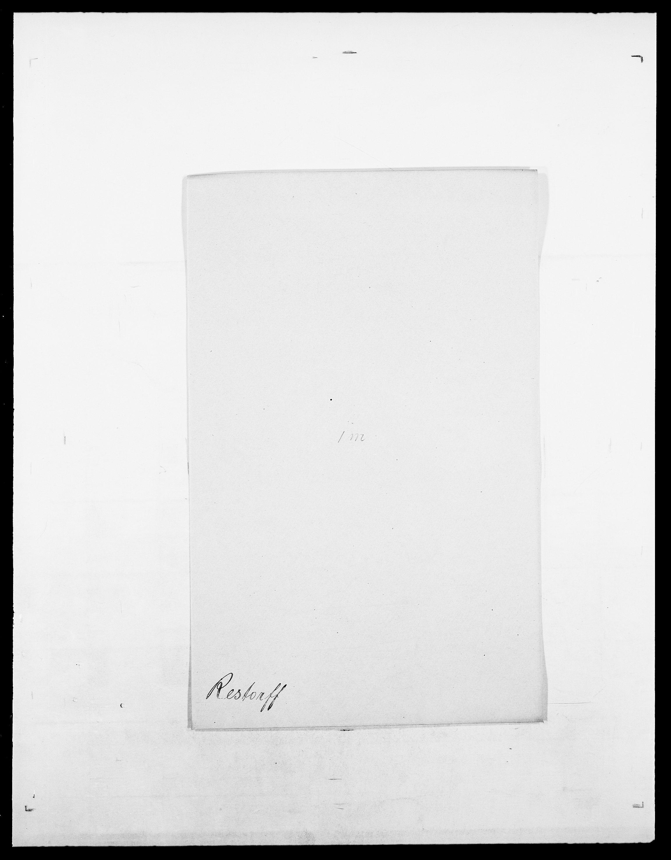 SAO, Delgobe, Charles Antoine - samling, D/Da/L0032: Rabakovsky - Rivertz, s. 443