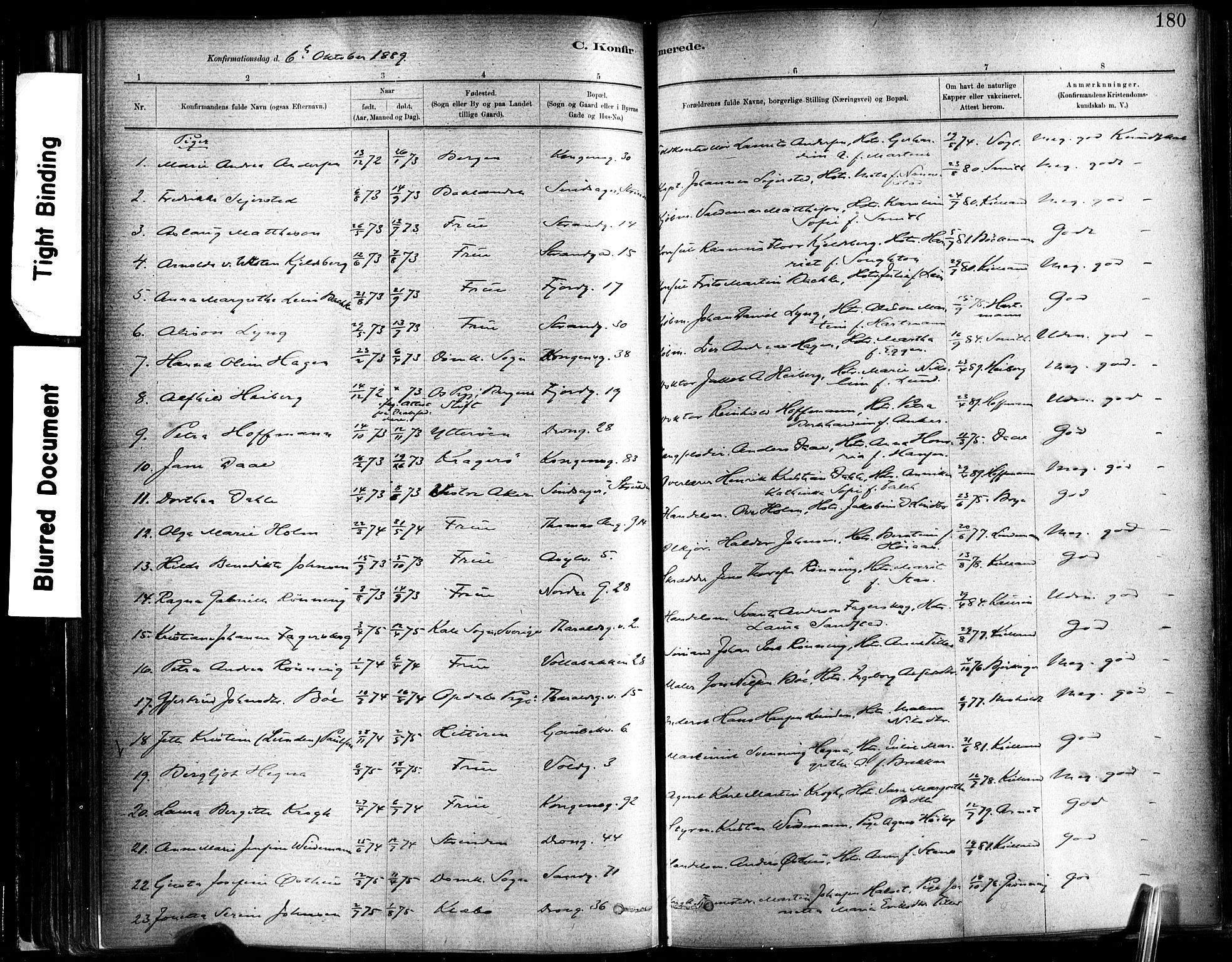SAT, Ministerialprotokoller, klokkerbøker og fødselsregistre - Sør-Trøndelag, 602/L0119: Ministerialbok nr. 602A17, 1880-1901, s. 180