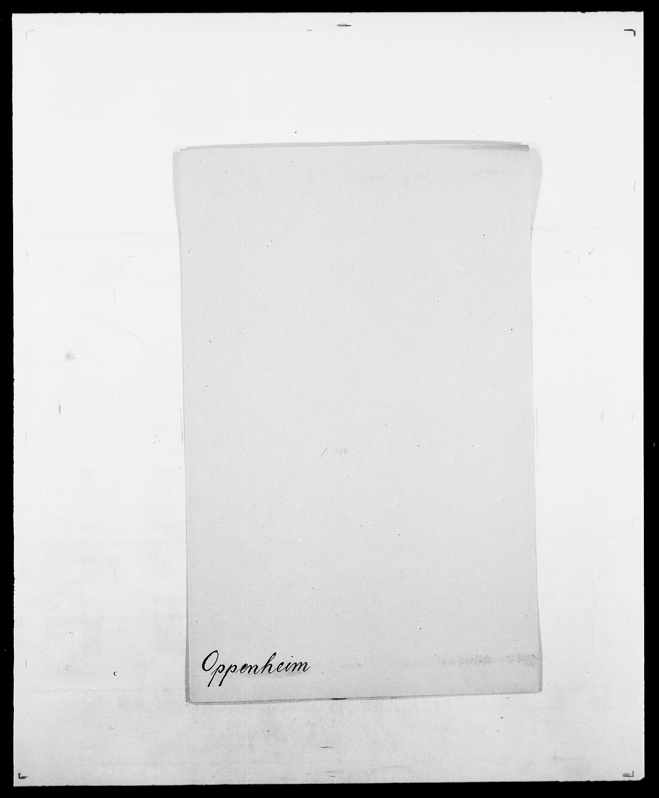 SAO, Delgobe, Charles Antoine - samling, D/Da/L0029: Obel - Oxholm, s. 375