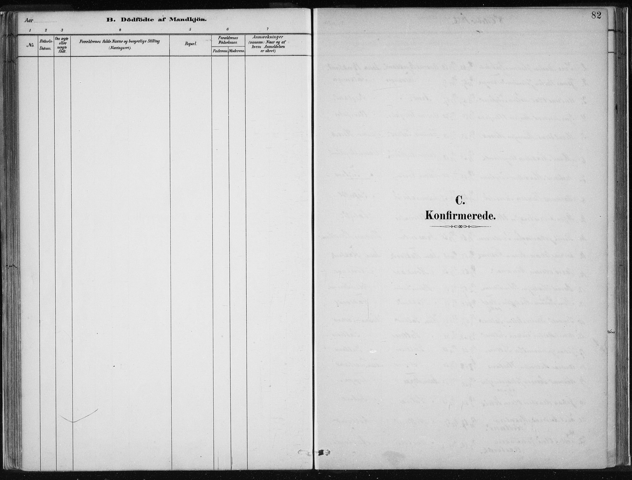 SAB, Hamre Sokneprestembete, H/Haa: Ministerialbok nr. D  1, 1882-1906, s. 82