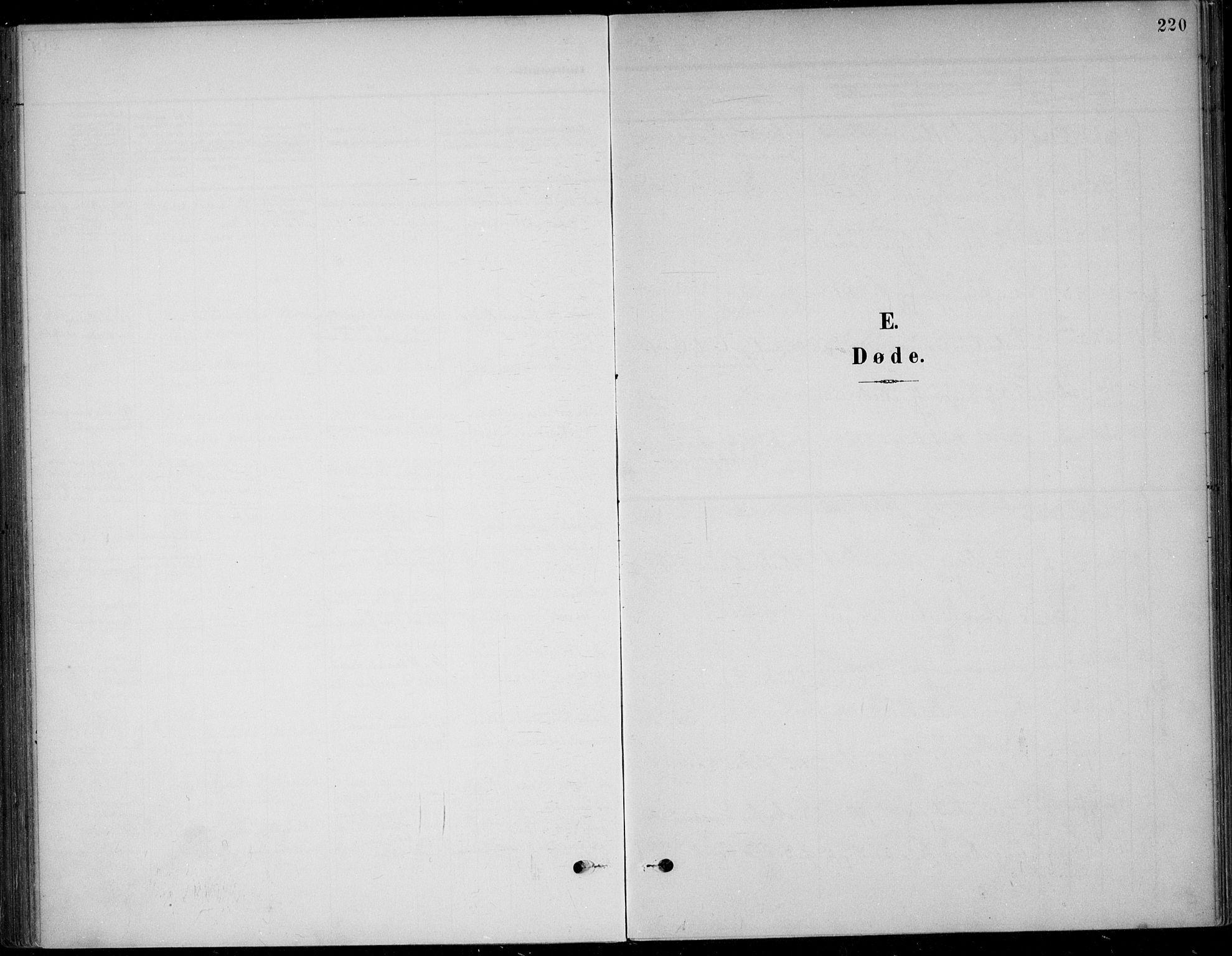SAKO, Solum kirkebøker, F/Fb/L0003: Ministerialbok nr. II 3, 1901-1912, s. 220
