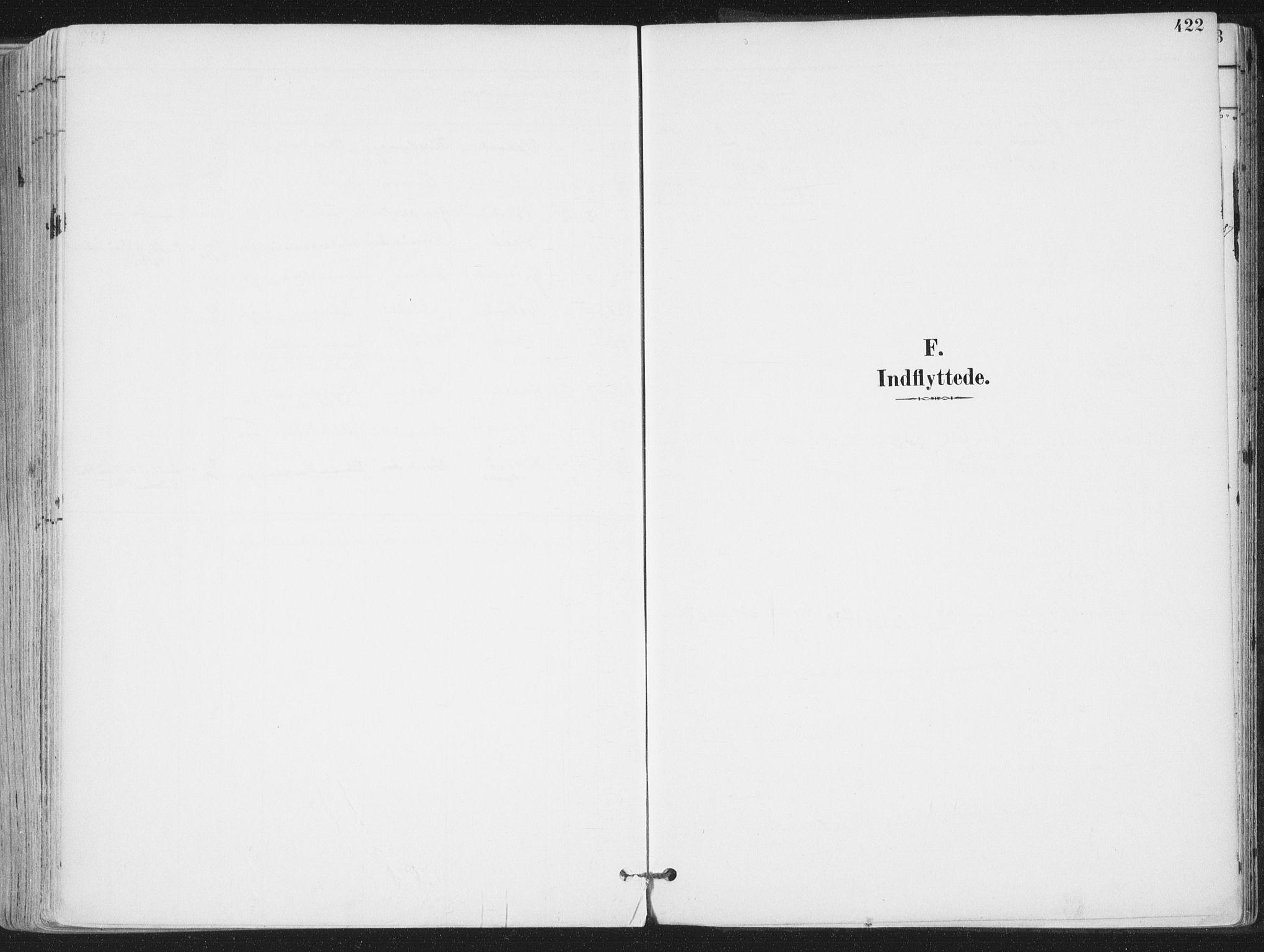 SAT, Ministerialprotokoller, klokkerbøker og fødselsregistre - Nordland, 802/L0055: Ministerialbok nr. 802A02, 1894-1915, s. 422