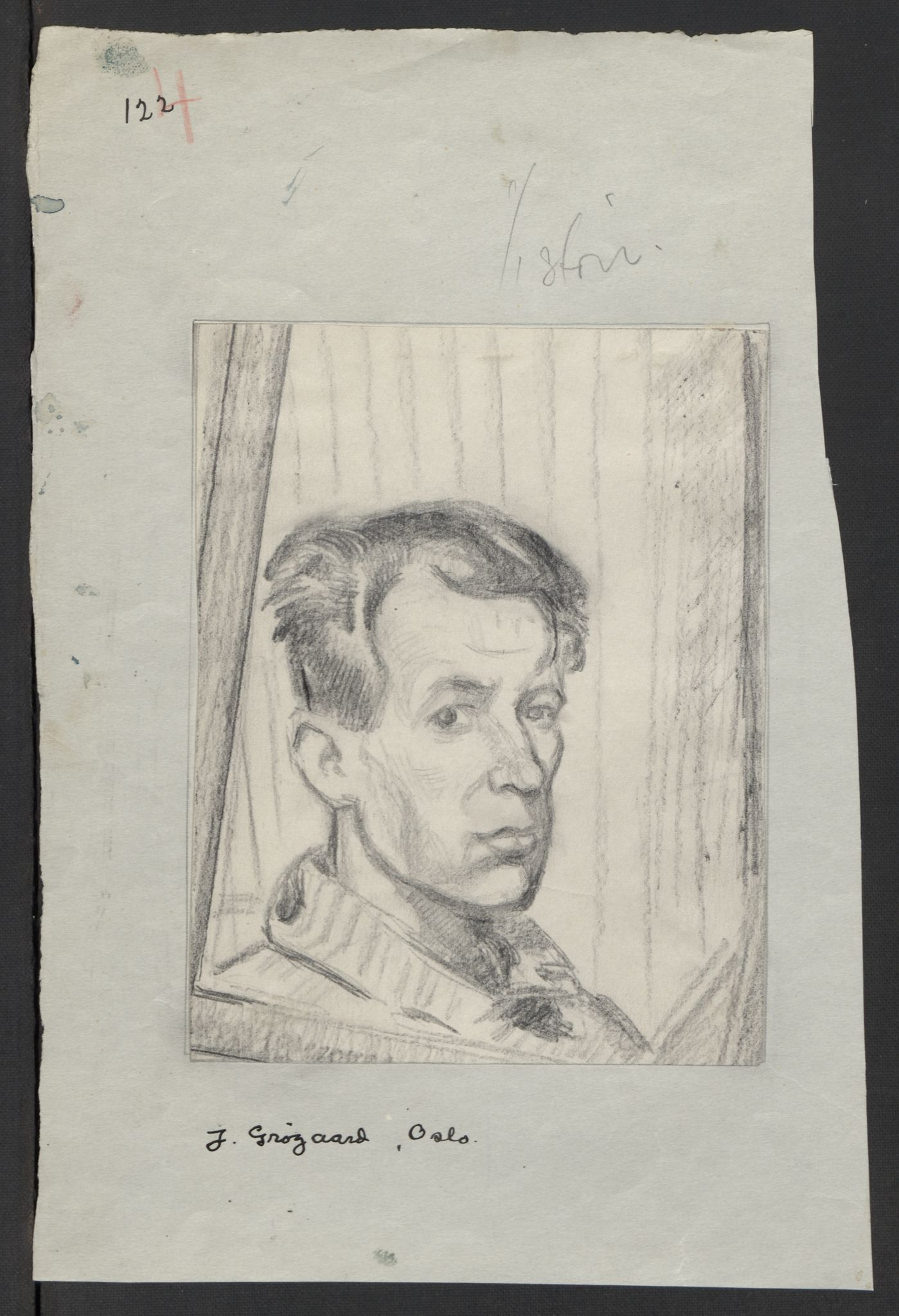 RA, Grøgaard, Joachim, F/L0001: Personalia, dagbøker, tegninger, 1945-1946, s. 185