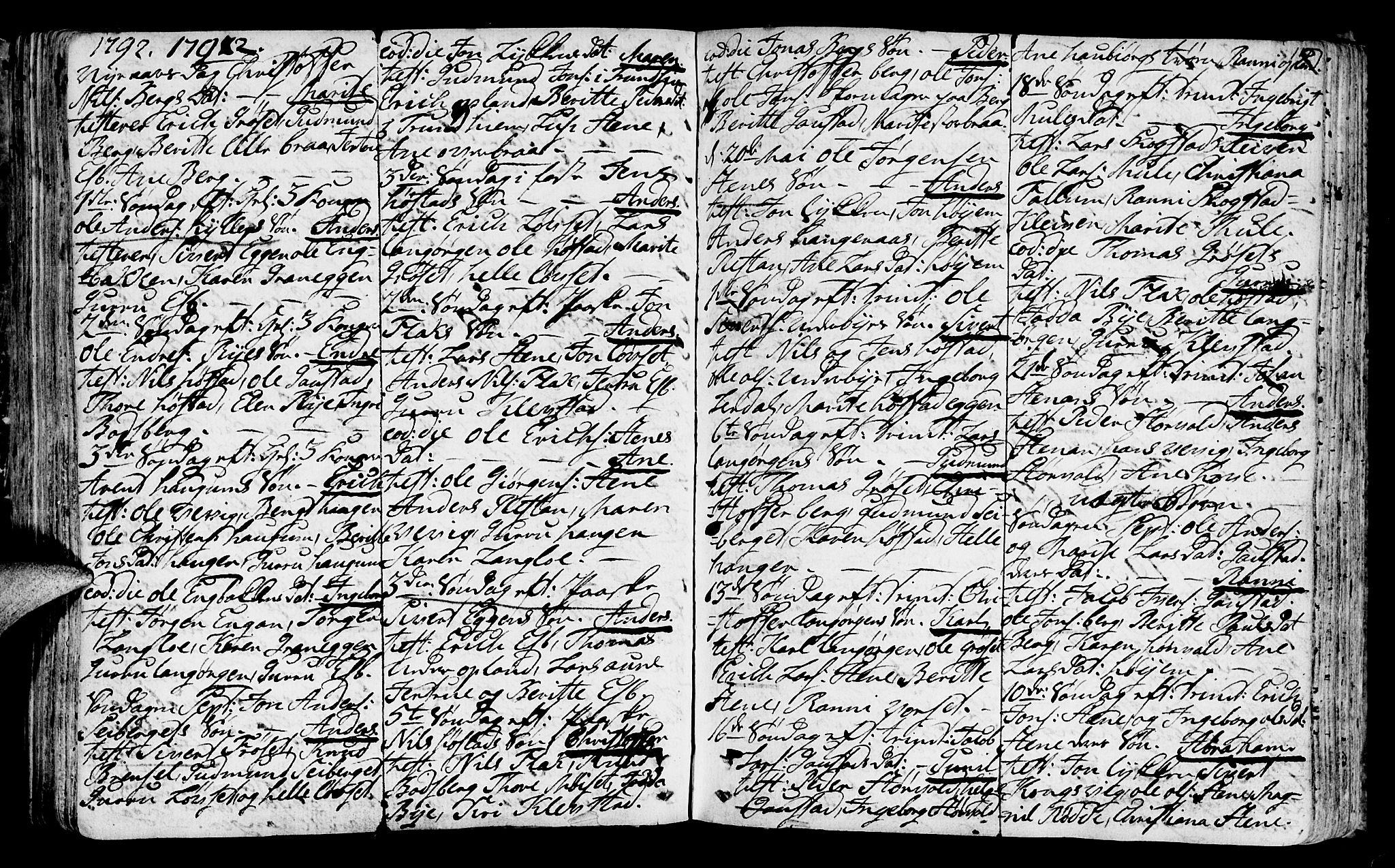 SAT, Ministerialprotokoller, klokkerbøker og fødselsregistre - Sør-Trøndelag, 612/L0370: Ministerialbok nr. 612A04, 1754-1802, s. 117