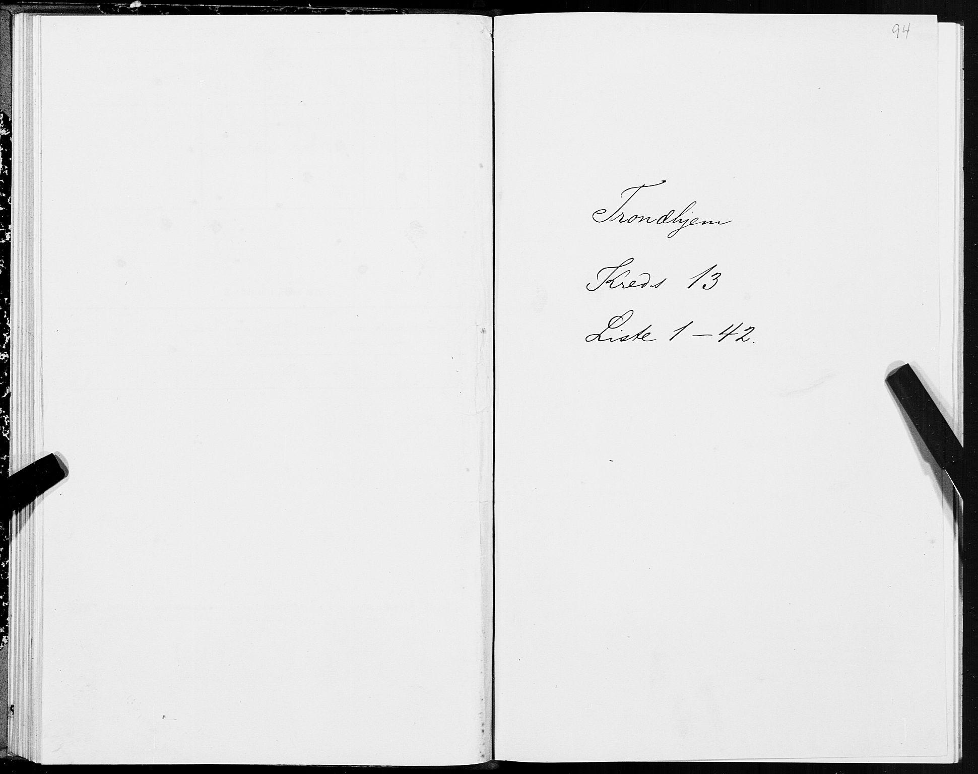 SAT, Folketelling 1875 for 1601 Trondheim kjøpstad, 1875, s. 7094