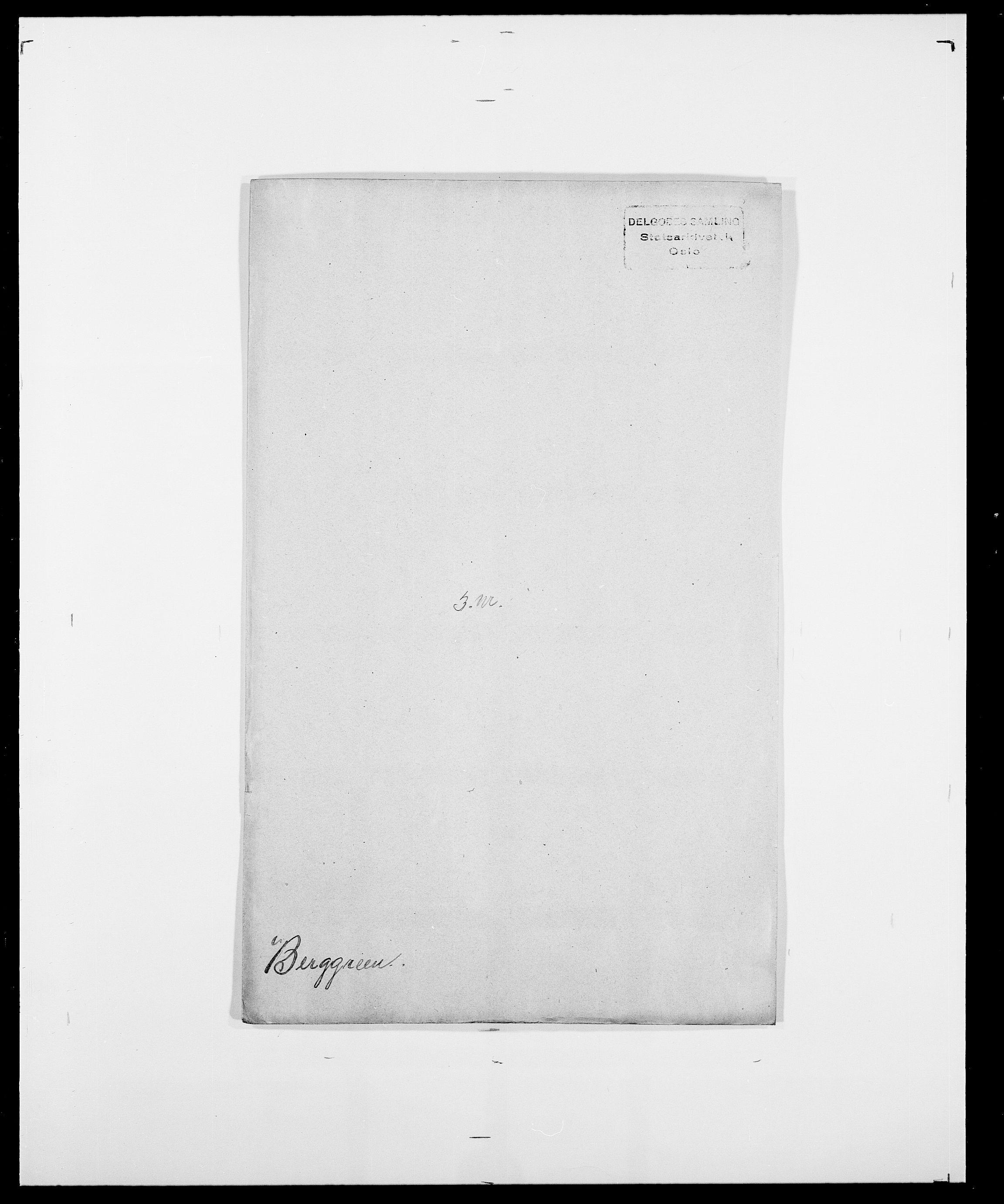 SAO, Delgobe, Charles Antoine - samling, D/Da/L0004: Bergendahl - Blære, s. 26