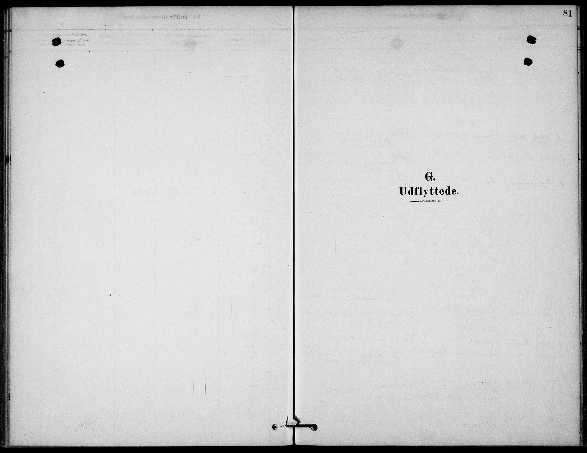 SAKO, Bamble kirkebøker, G/Gb/L0001: Klokkerbok nr. II 1, 1878-1900, s. 81