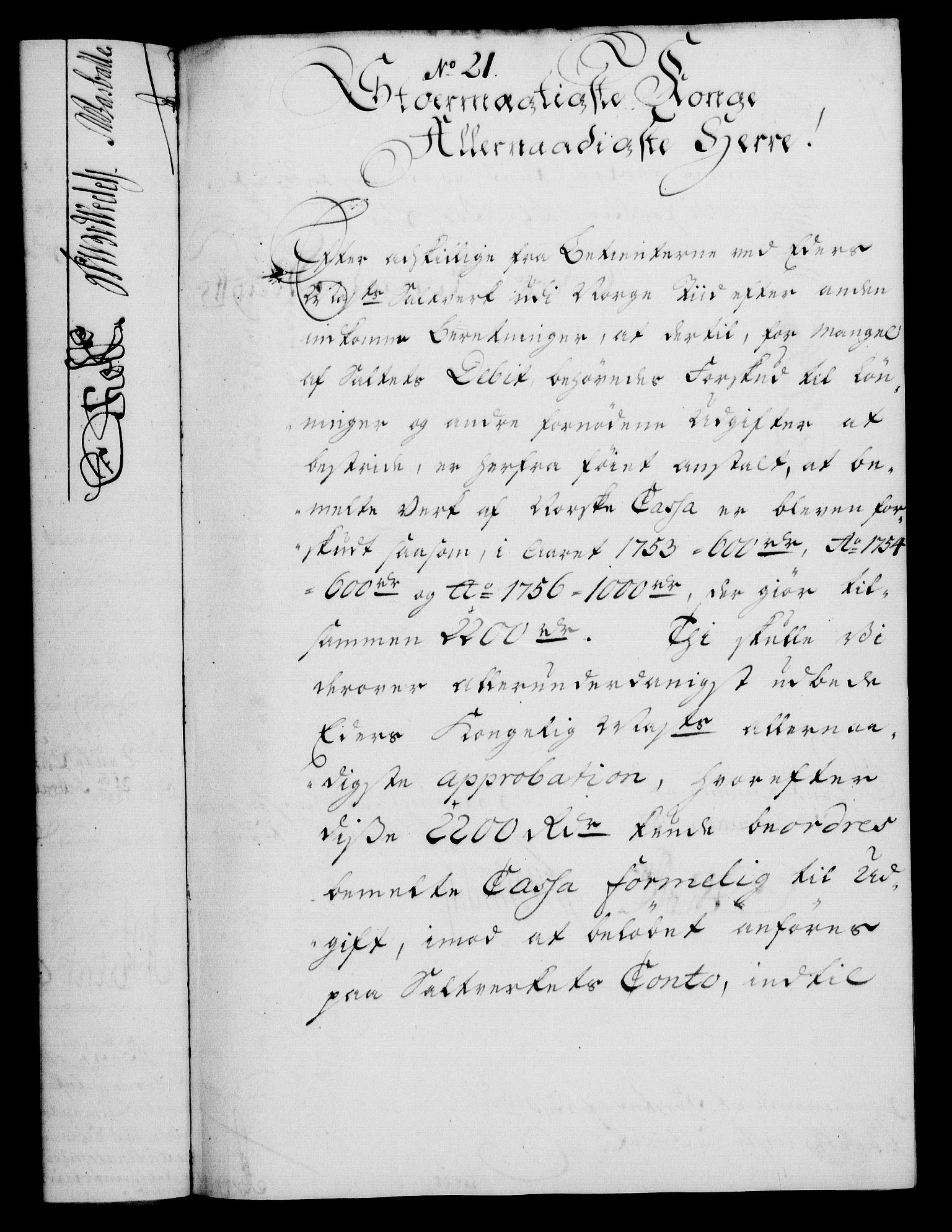 RA, Rentekammeret, Kammerkanselliet, G/Gf/Gfa/L0039: Norsk relasjons- og resolusjonsprotokoll (merket RK 52.39), 1757, s. 150