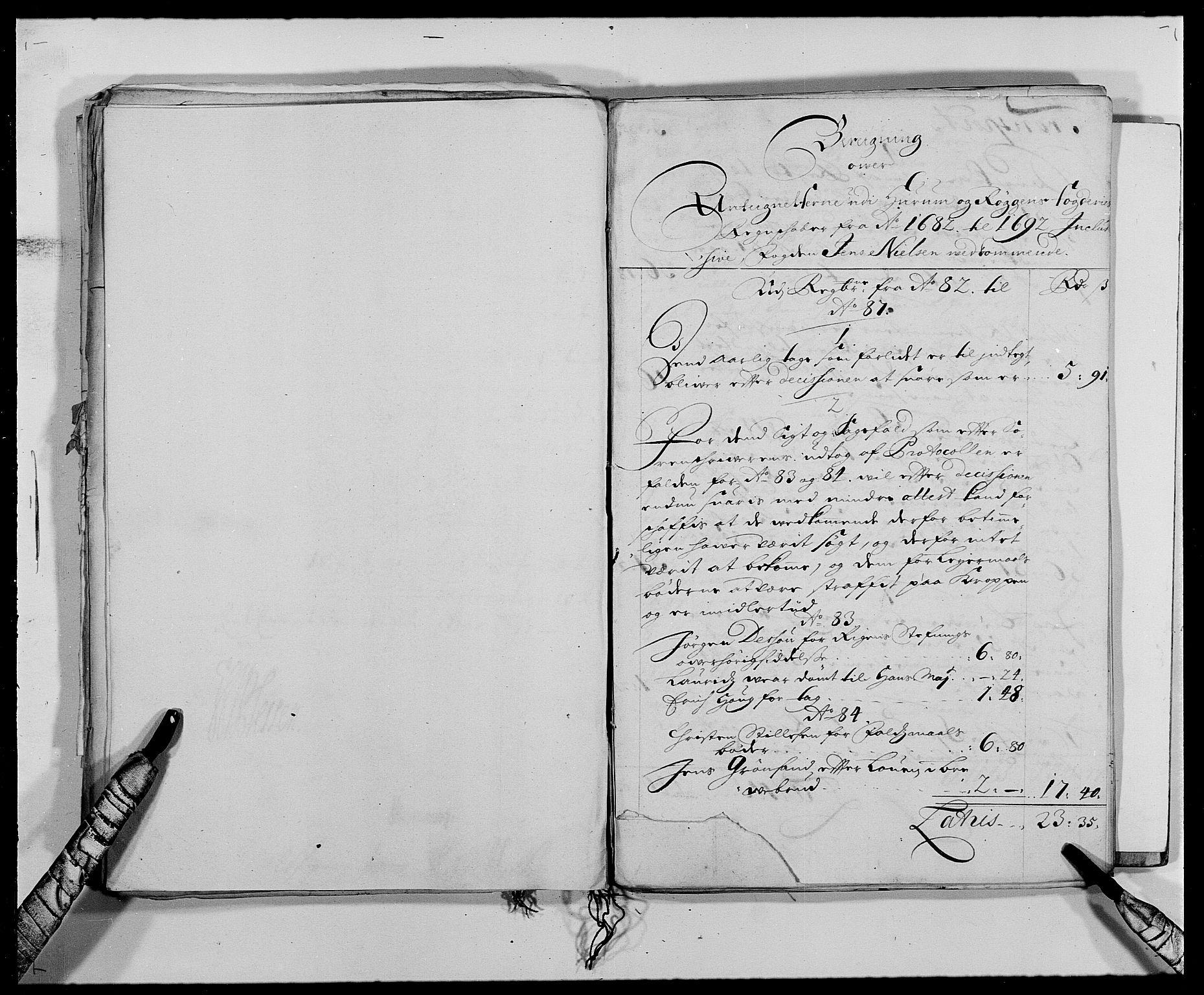 RA, Rentekammeret inntil 1814, Reviderte regnskaper, Fogderegnskap, R29/L1693: Fogderegnskap Hurum og Røyken, 1688-1693, s. 368