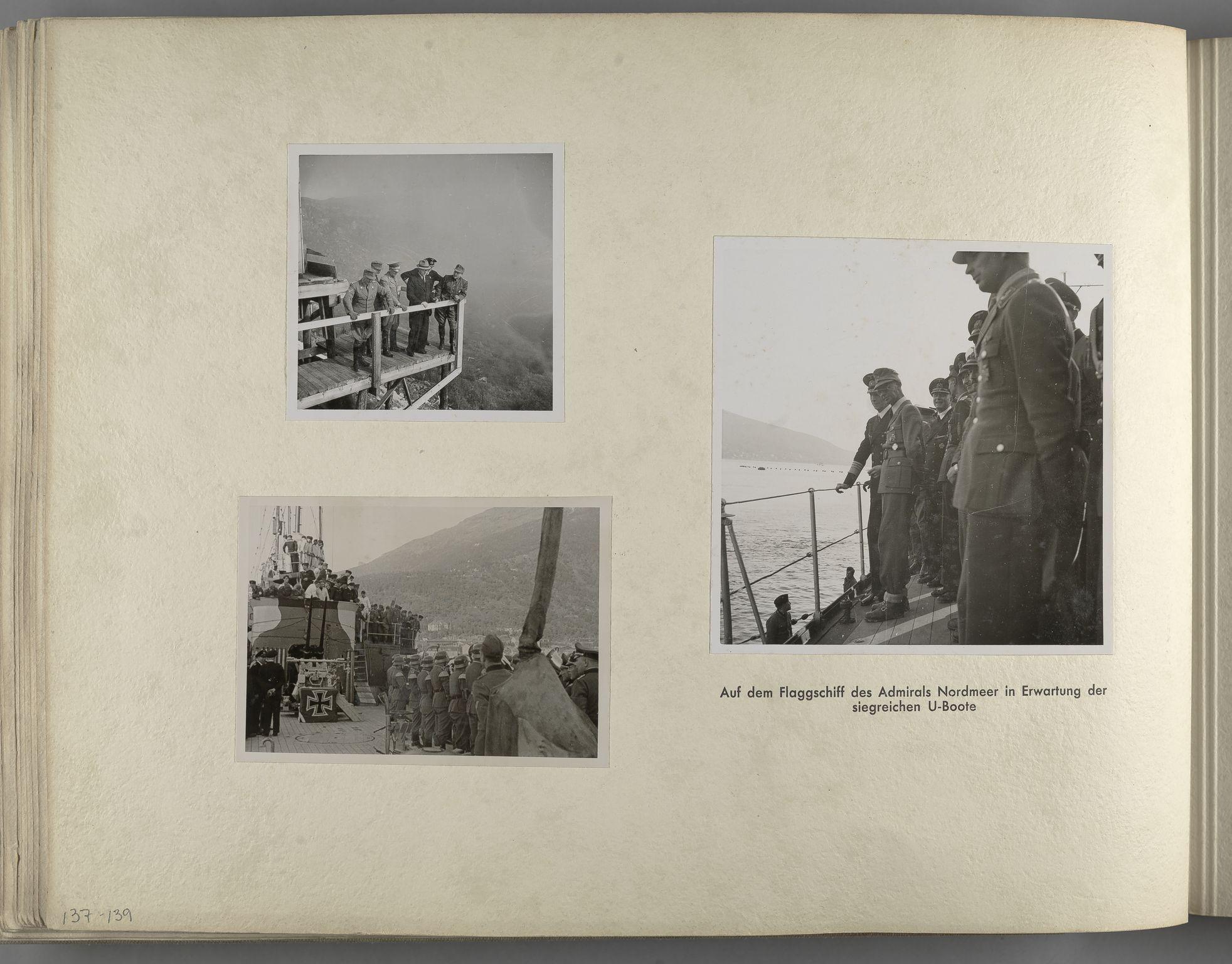 RA, Tyske arkiver, Reichskommissariat, Bildarchiv, U/L0071: Fotoalbum: Mit dem Reichskommissar nach Nordnorwegen und Finnland 10. bis 27. Juli 1942, 1942, s. 54