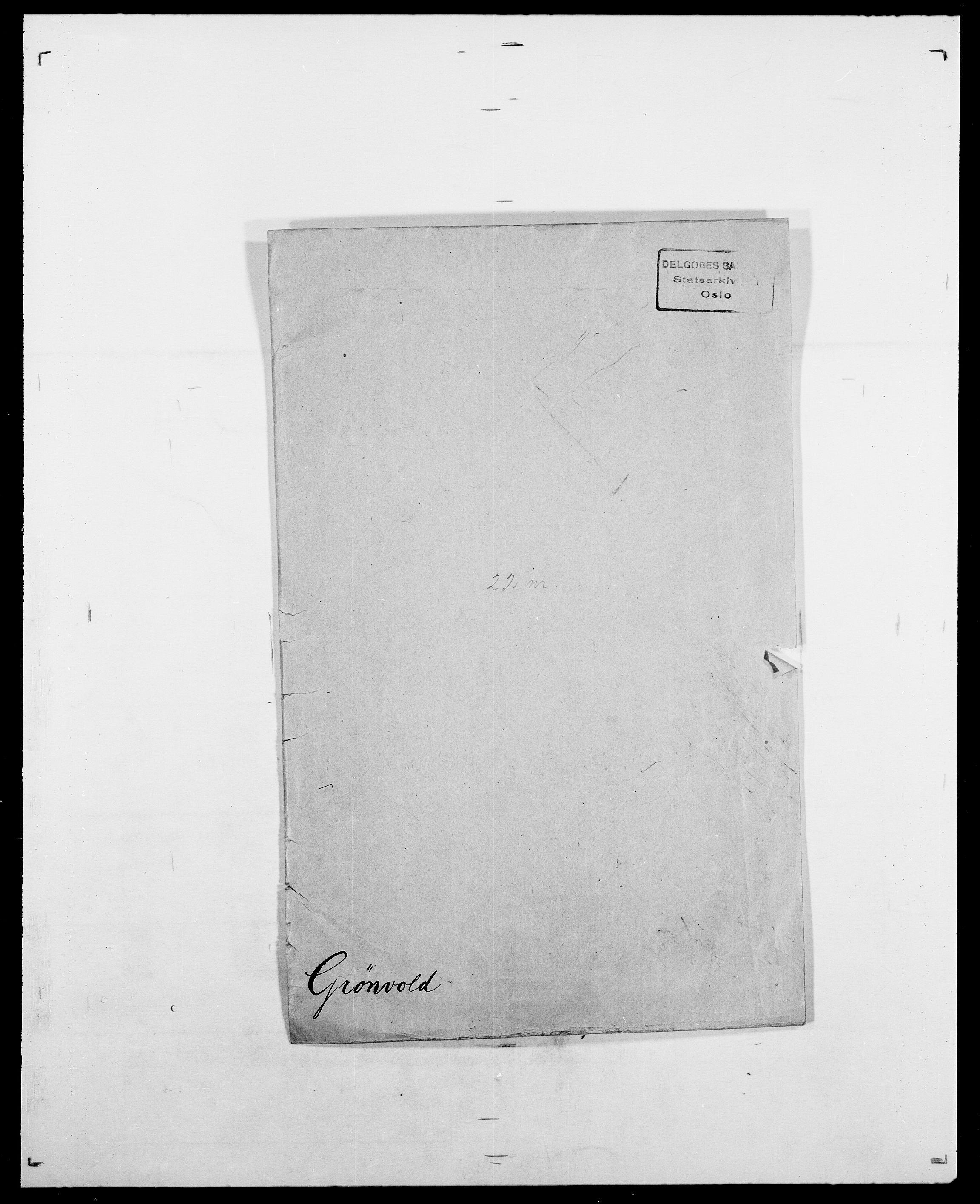 SAO, Delgobe, Charles Antoine - samling, D/Da/L0015: Grodtshilling - Halvorsæth, s. 277