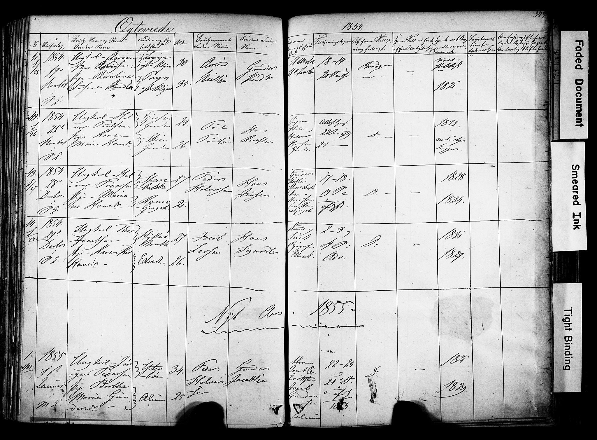 SAKO, Solum kirkebøker, F/Fa/L0006: Ministerialbok nr. I 6, 1844-1855, s. 349