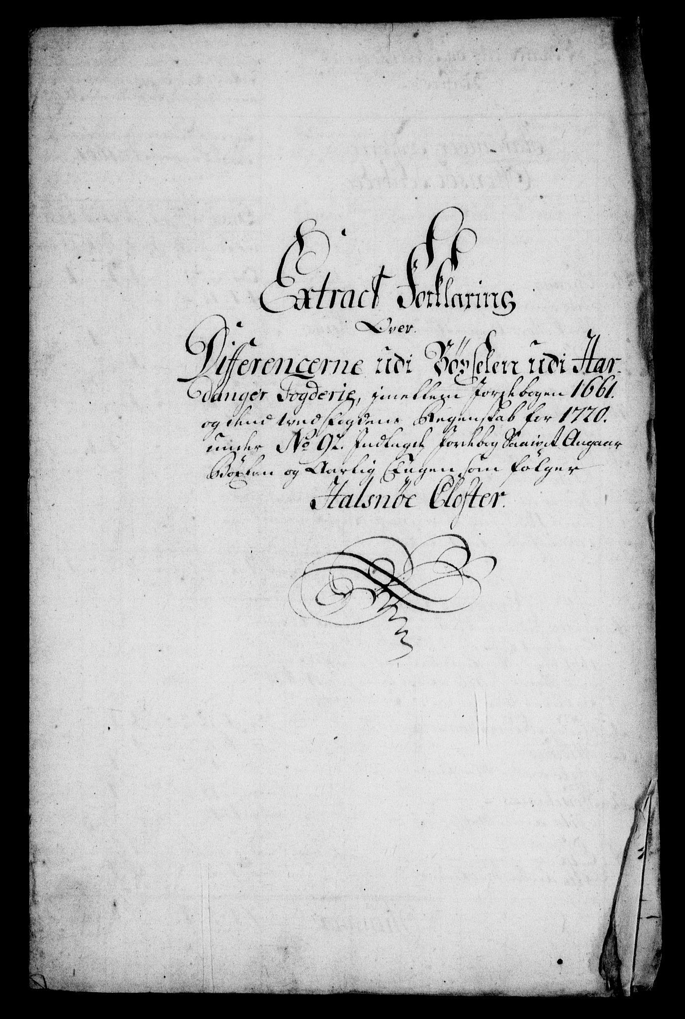 RA, Rentekammeret inntil 1814, Realistisk ordnet avdeling, On/L0005: [Jj 6]: Forskjellige dokumenter om Halsnøy klosters gods, 1697-1770, s. 366