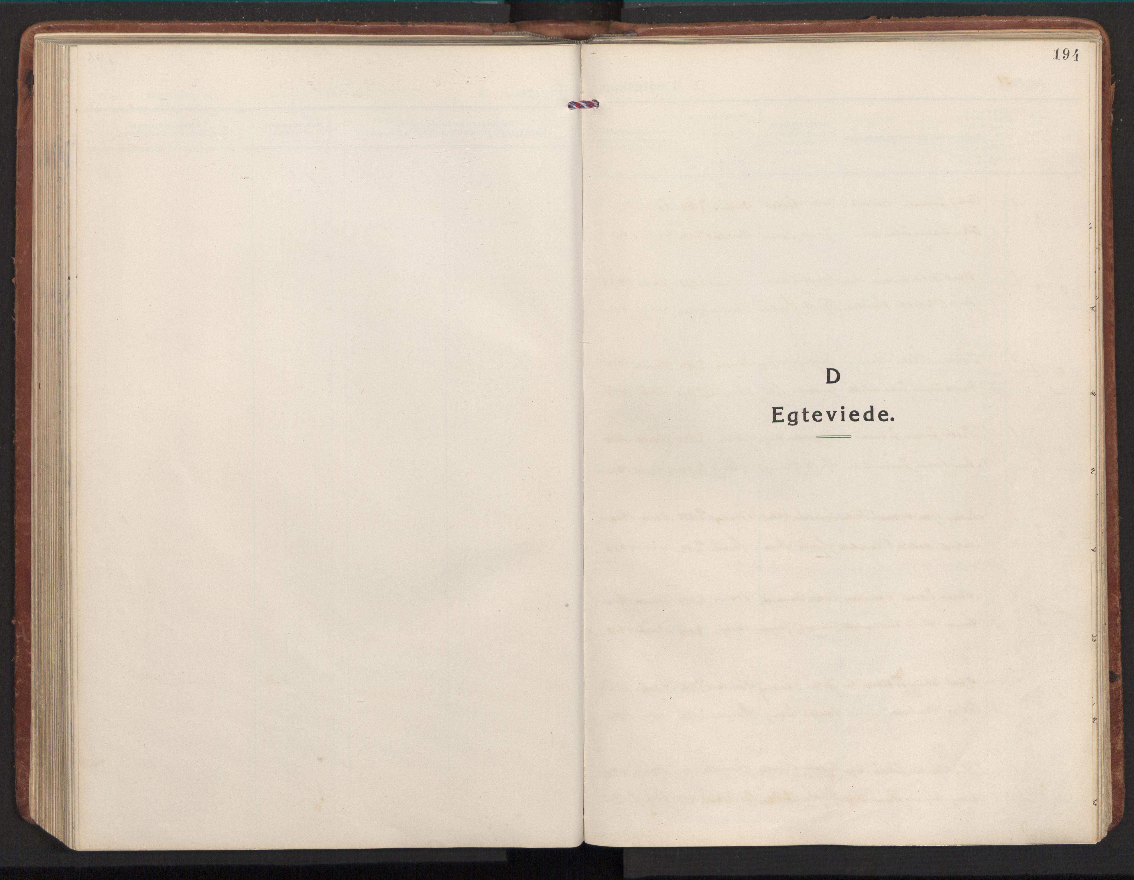 SAT, Ministerialprotokoller, klokkerbøker og fødselsregistre - Nord-Trøndelag, 784/L0678: Ministerialbok nr. 784A13, 1921-1938, s. 194