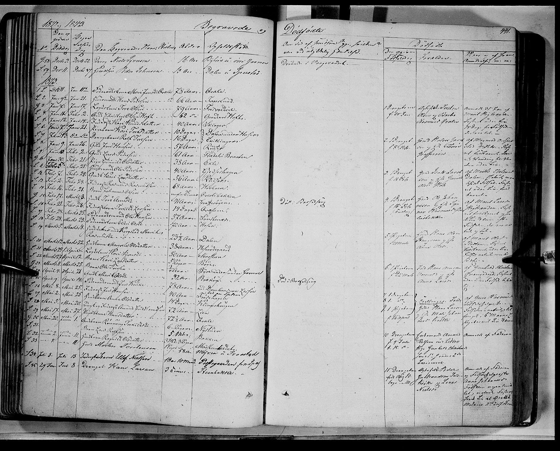 SAH, Lom prestekontor, K/L0006: Ministerialbok nr. 6B, 1837-1863, s. 441