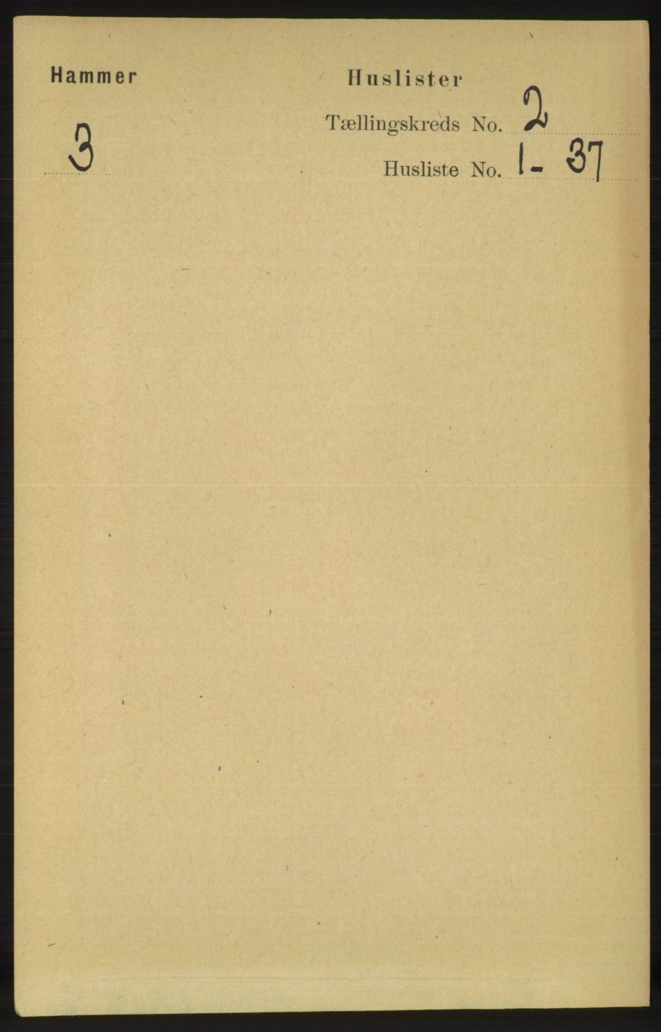 RA, Folketelling 1891 for 1254 Hamre herred, 1891, s. 186