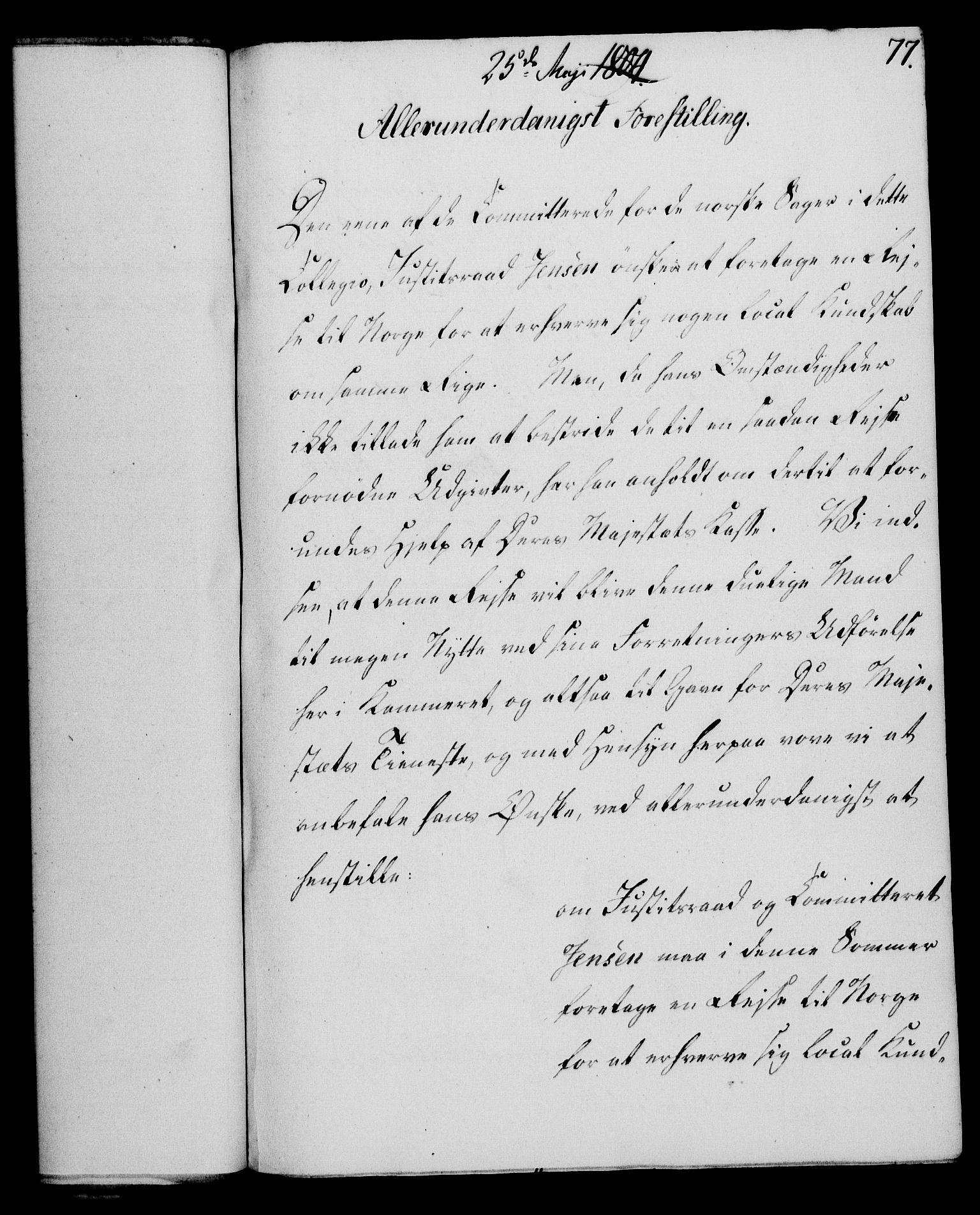 RA, Rentekammeret, Kammerkanselliet, G/Gf/Gfa/L0086: Norsk relasjons- og resolusjonsprotokoll (merket RK 52.86), 1804, s. 494
