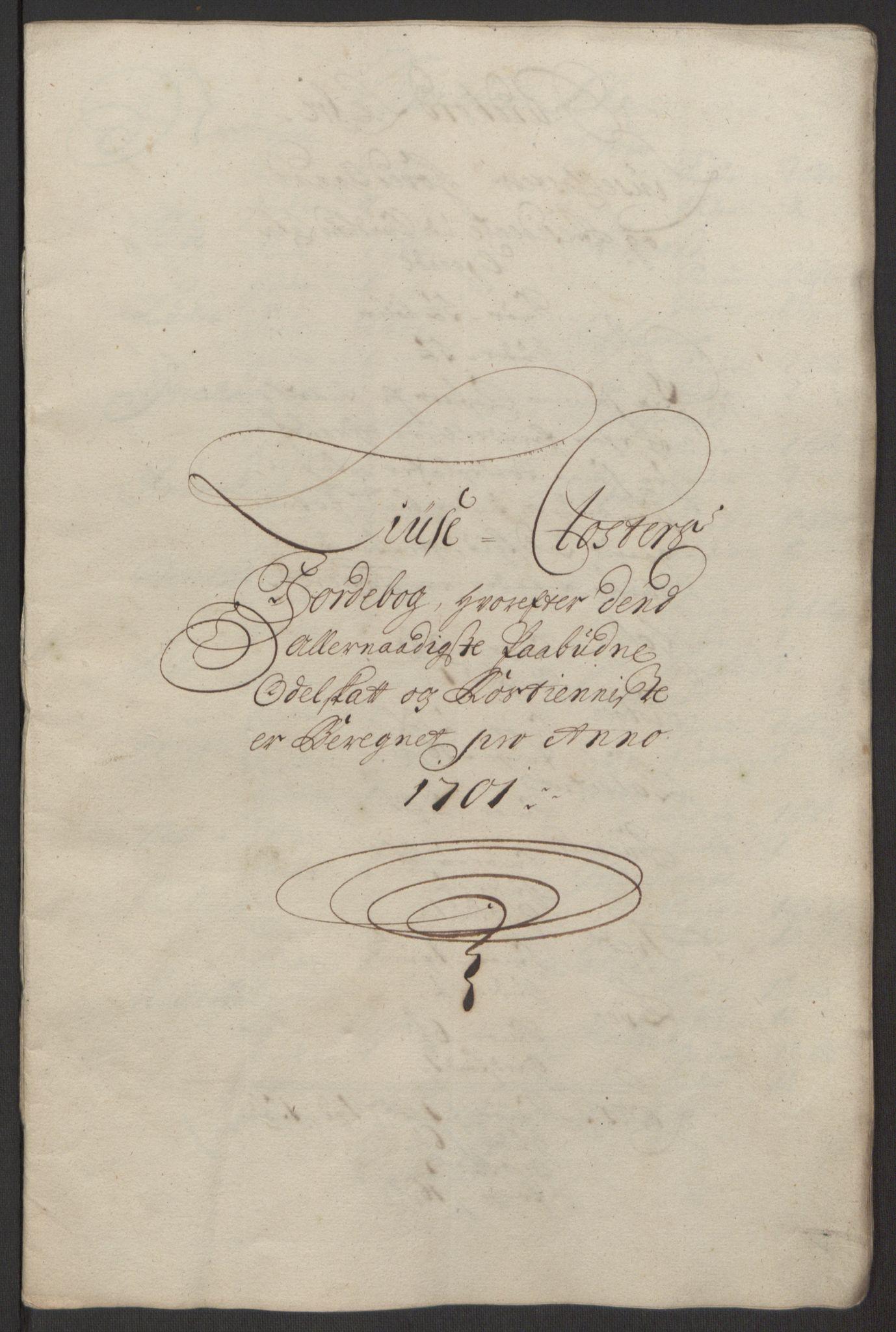 RA, Rentekammeret inntil 1814, Reviderte regnskaper, Fogderegnskap, R50/L3159: Fogderegnskap Lyse kloster, 1691-1709, s. 142