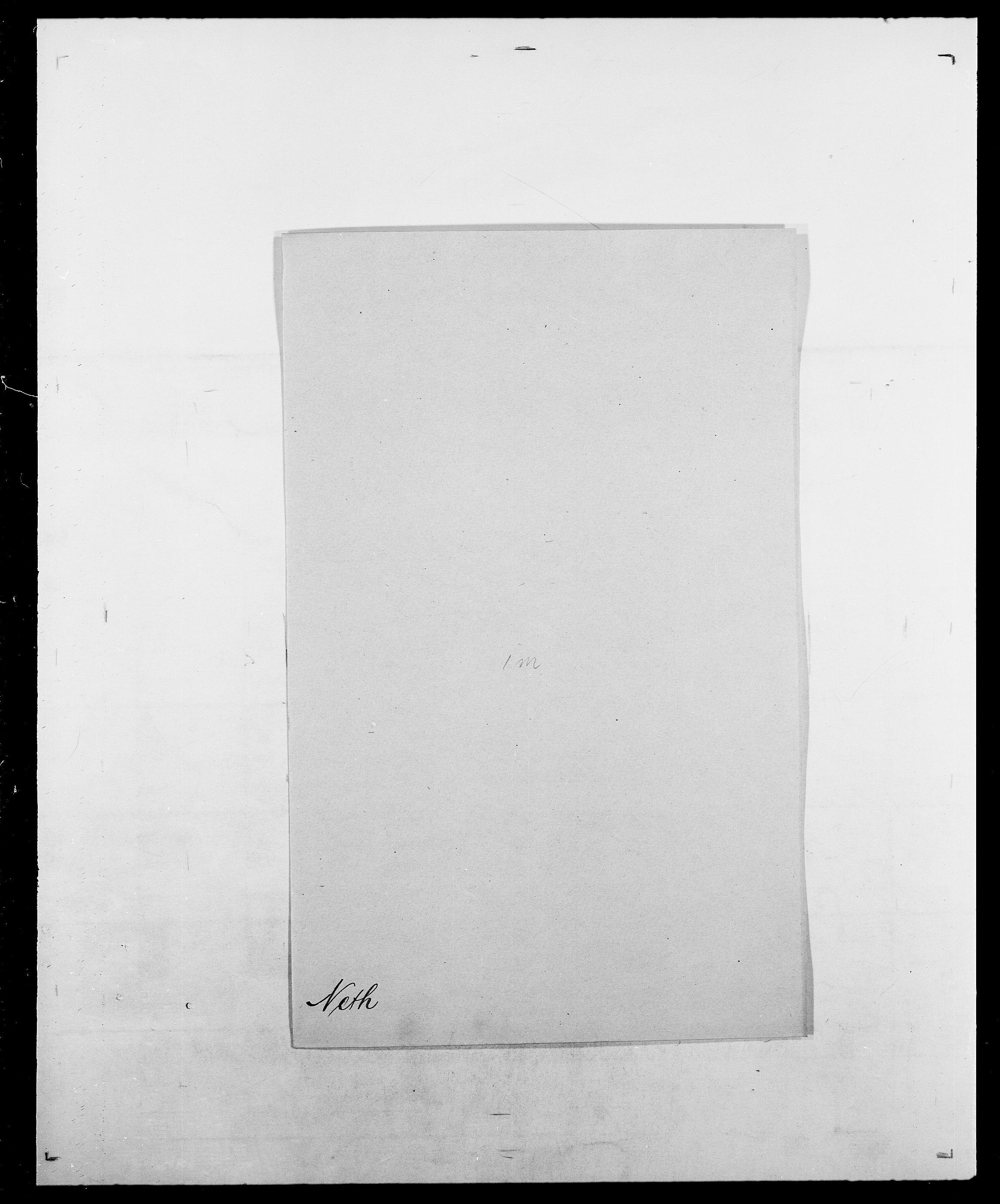 SAO, Delgobe, Charles Antoine - samling, D/Da/L0028: Naaden - Nøvik, s. 123