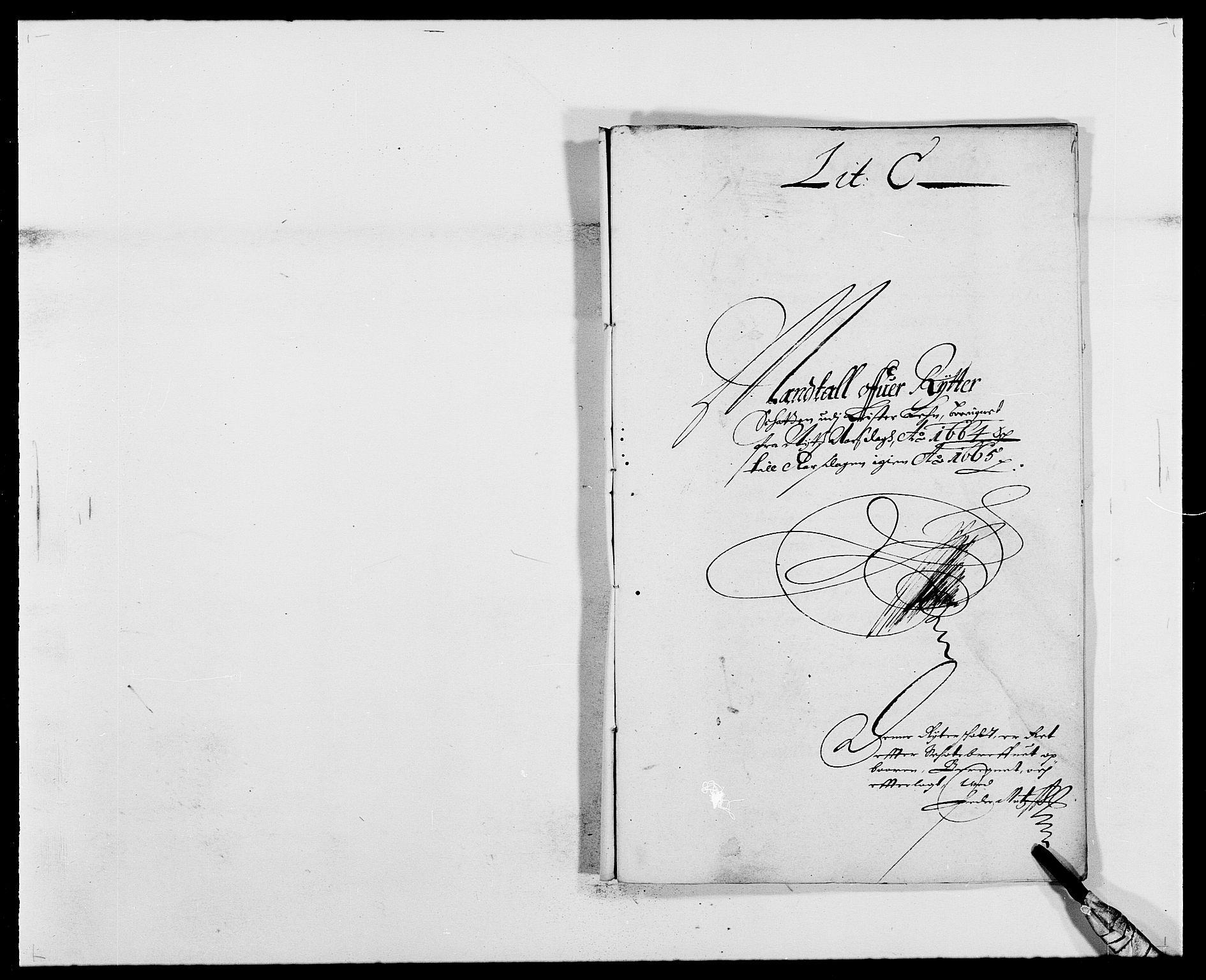 RA, Rentekammeret inntil 1814, Reviderte regnskaper, Fogderegnskap, R41/L2523: Fogderegnskap Lista, 1663-1664, s. 239