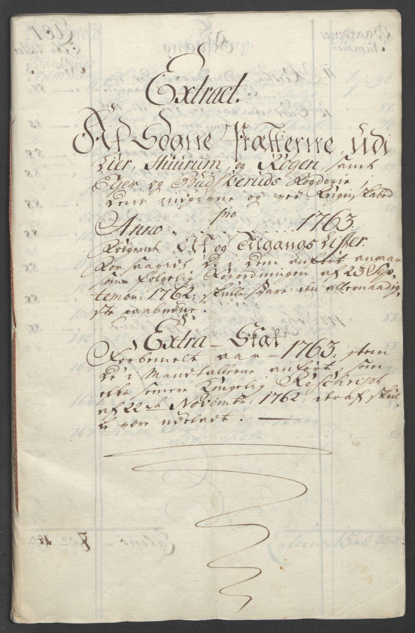 RA, Rentekammeret inntil 1814, Reviderte regnskaper, Fogderegnskap, R31/L1833: Ekstraskatten Hurum, Røyken, Eiker, Lier og Buskerud, 1762-1764, s. 65
