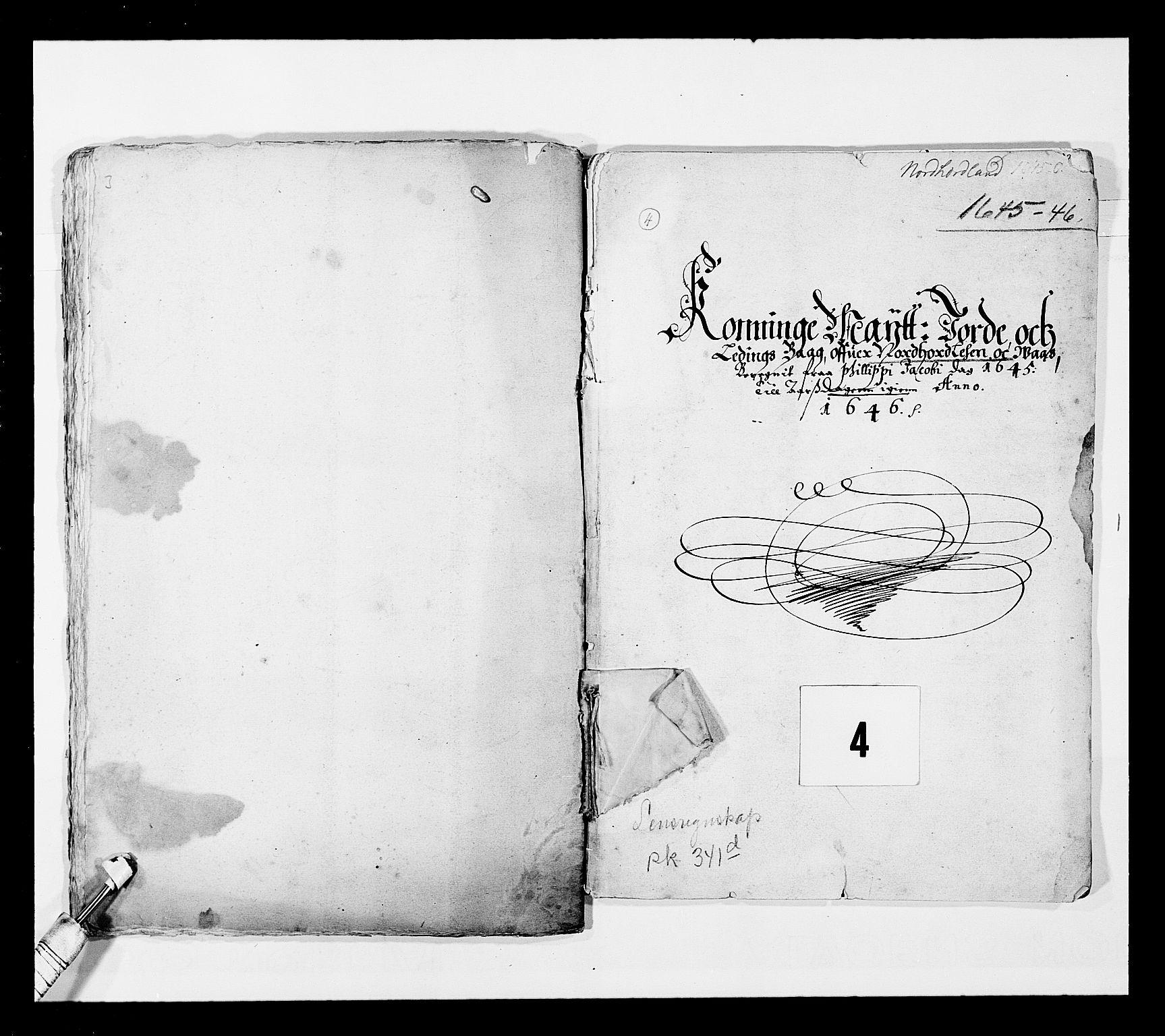 RA, Stattholderembetet 1572-1771, Ek/L0025: Jordebøker 1633-1658:, 1645-1646, s. 74