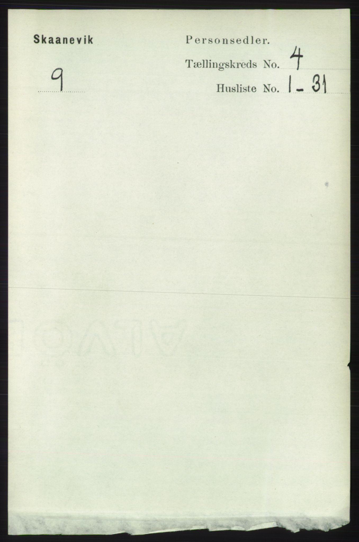 RA, Folketelling 1891 for 1212 Skånevik herred, 1891, s. 841