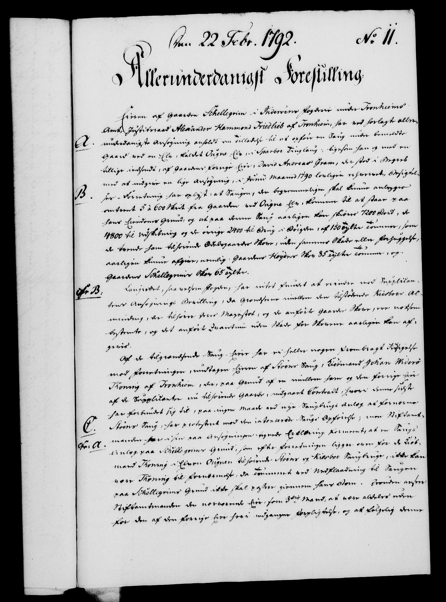 RA, Rentekammeret, Kammerkanselliet, G/Gf/Gfa/L0074: Norsk relasjons- og resolusjonsprotokoll (merket RK 52.74), 1792, s. 68