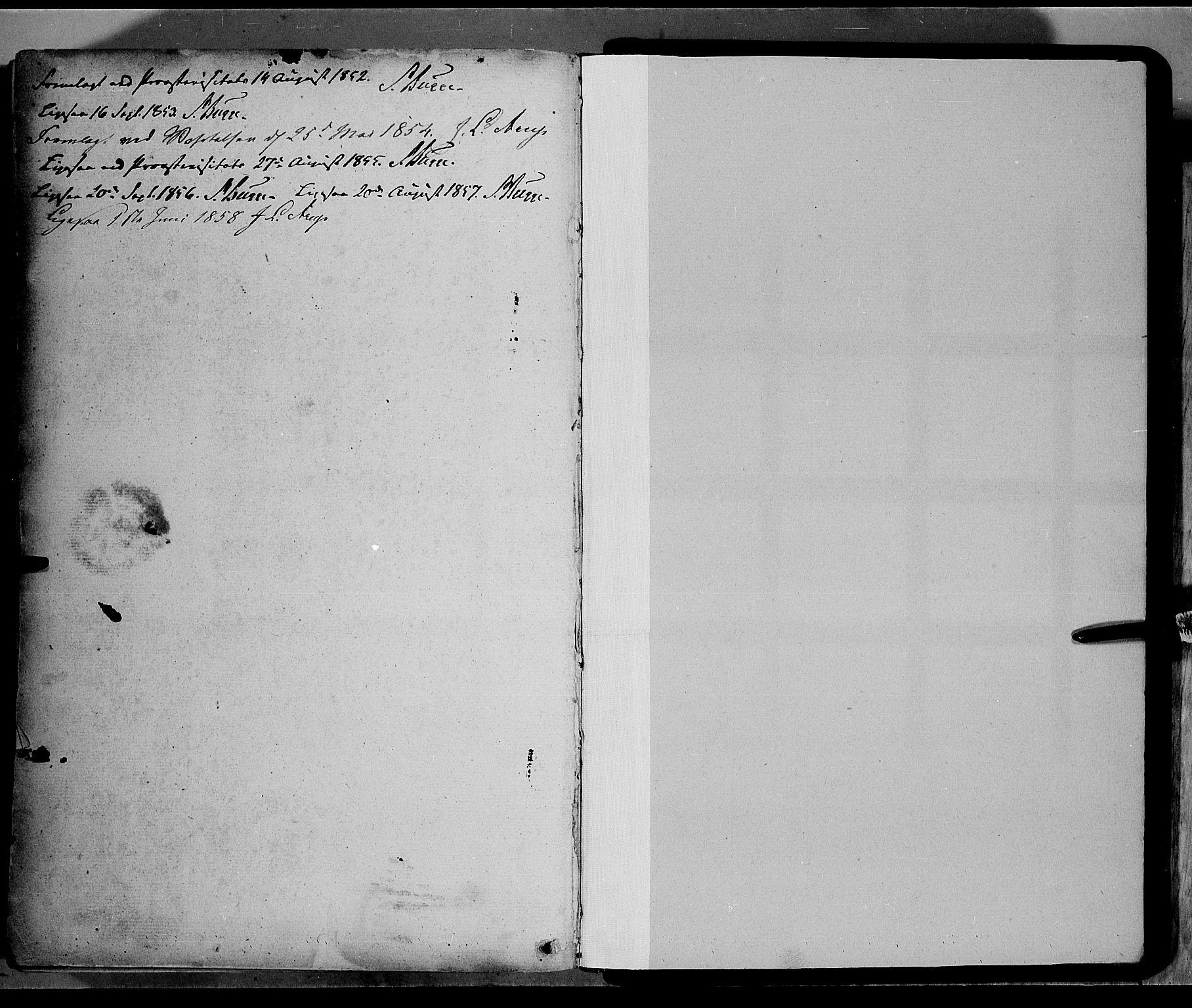 SAH, Jevnaker prestekontor, Ministerialbok nr. 6, 1837-1857