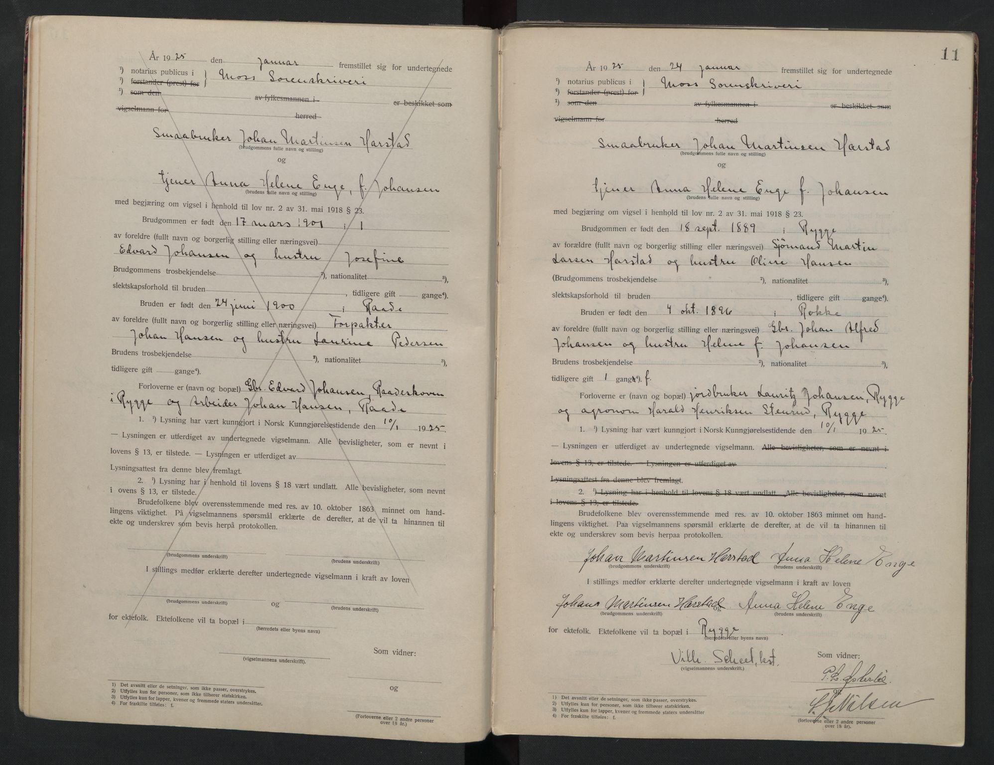 SAO, Moss sorenskriveri, 1921-1937, s. 11