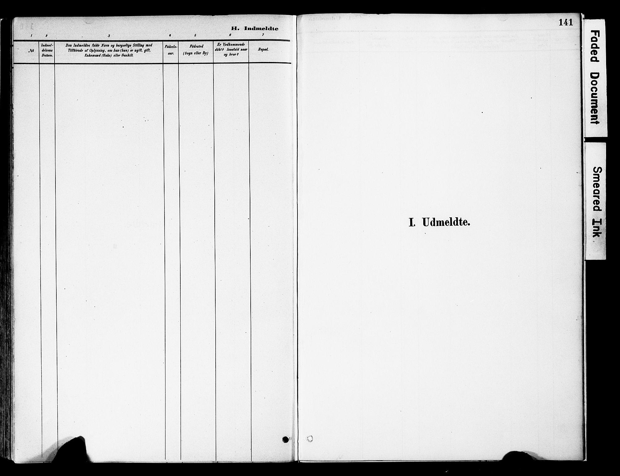 SAH, Vestre Slidre prestekontor, Ministerialbok nr. 5, 1881-1912, s. 141