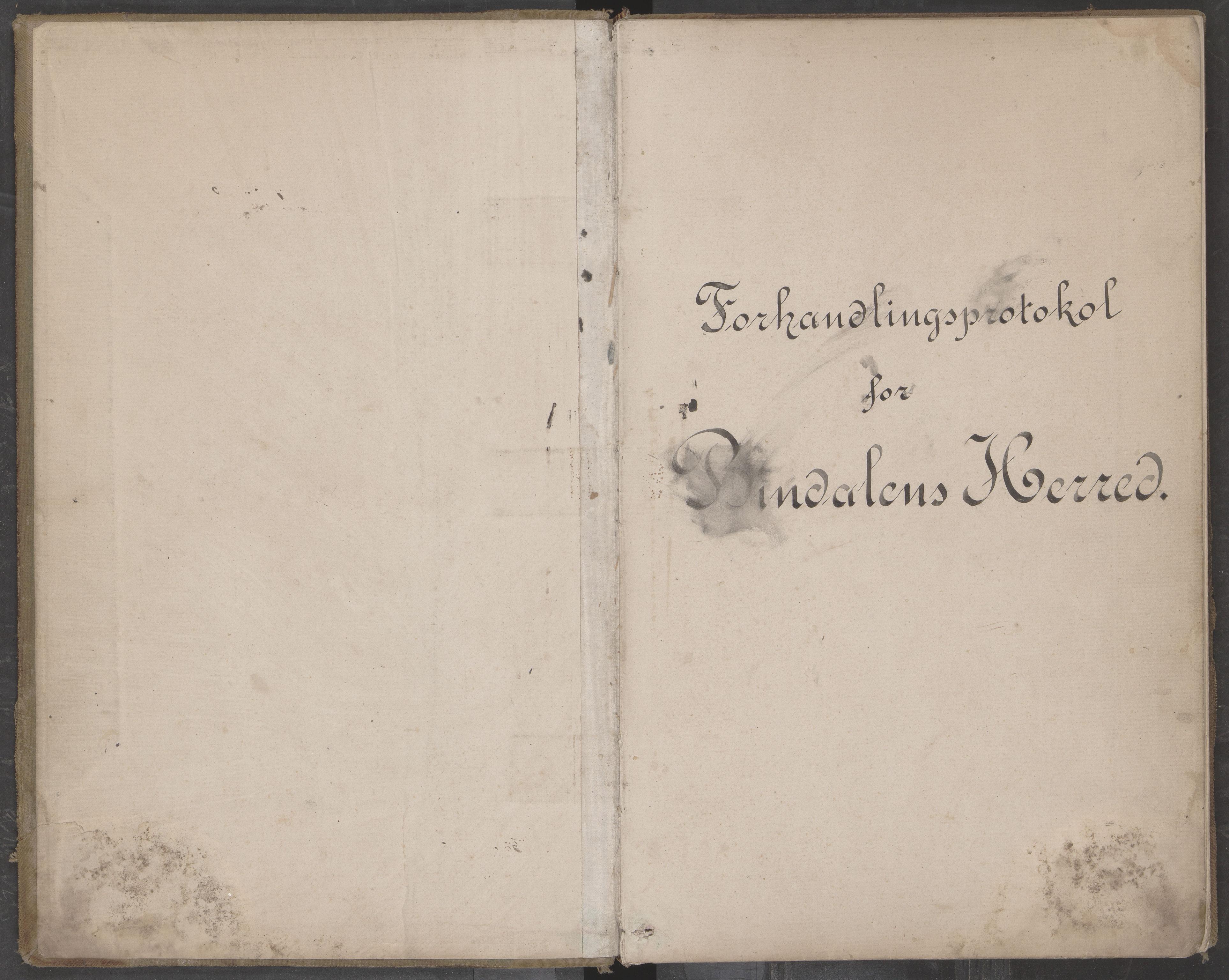 AIN, Bindal kommune. Formannskapet, A/Aa/L0000c: Møtebok, 1885-1897