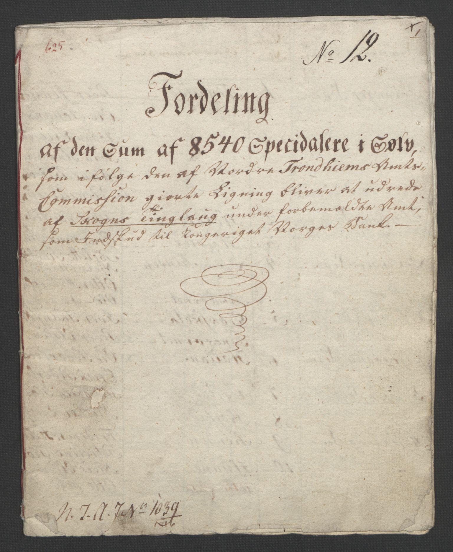 NOBA, Norges Bank/Sølvskatten 1816*, 1816-1822, s. 22