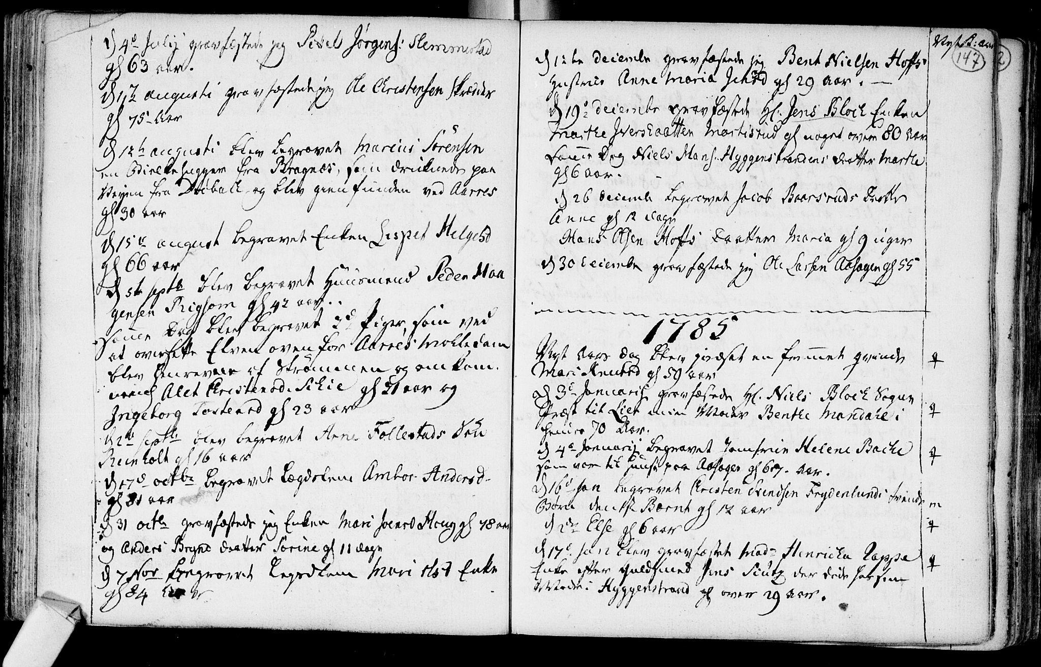 SAKO, Røyken kirkebøker, F/Fa/L0003: Ministerialbok nr. 3, 1782-1813, s. 147
